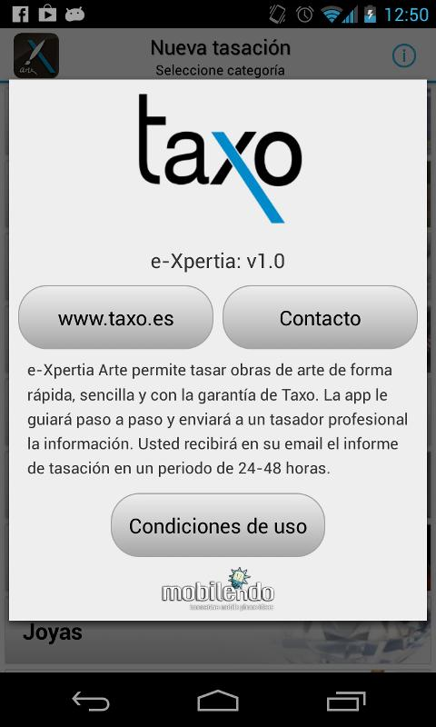 Taxo Art - Art Valuation - screenshot