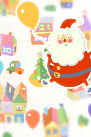 玩個人化App|Balloon Santa LWP免費|APP試玩
