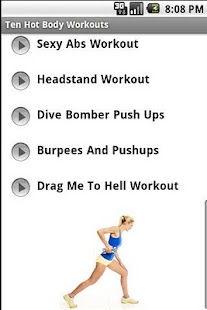 Hot Body Workouts - screenshot thumbnail