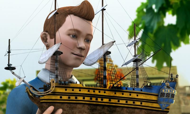 The Adventures of Tintin screenshot #2