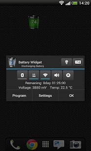 Battery Widget Free - screenshot thumbnail