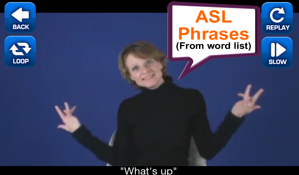 ASL Translator - screenshot