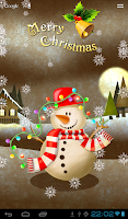 Screenshot of FGG Snowman Wallpaper Lite