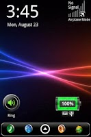 Screenshot of Signal Strength Widget