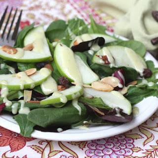 Carver's Salad with Honey Cider Dressing