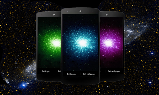Galaxy HD Live Wallpaper