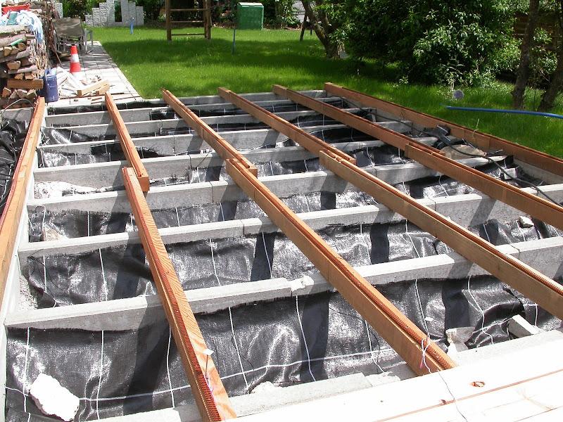 Fabulous Untergrund für Platten im Garten - Hausgarten.net DU37