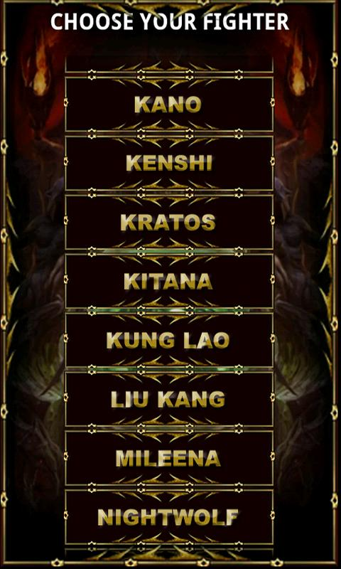 MK9 Living Guide - screenshot