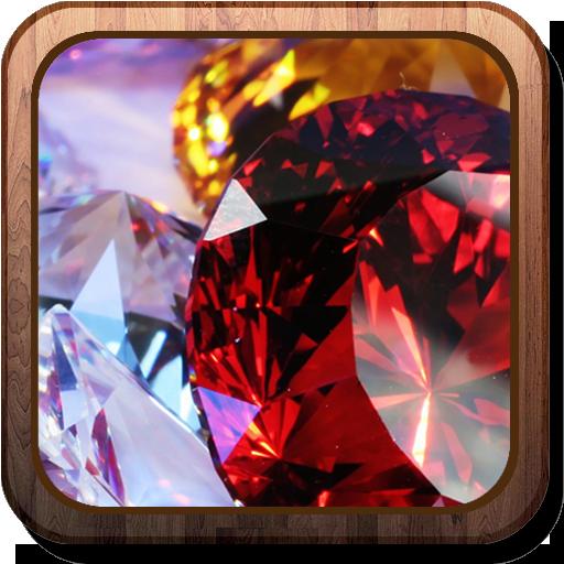 Gems HD Live Wallpaper 個人化 App LOGO-硬是要APP
