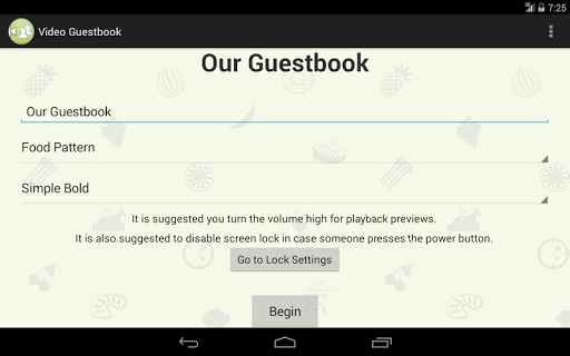 Video Guestbook Free Demo
