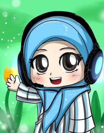 穆斯林女孩拼圖