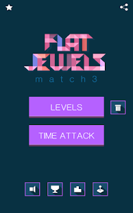 Flat Jewels Match 3- screenshot thumbnail
