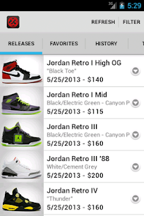 J23 - Jordan Release Dates - screenshot thumbnail
