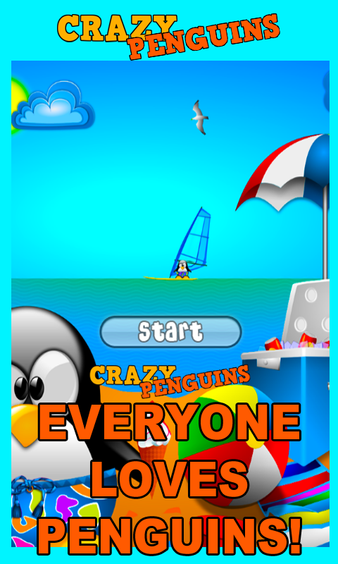 Crazy Penguins Matching Game- screenshot