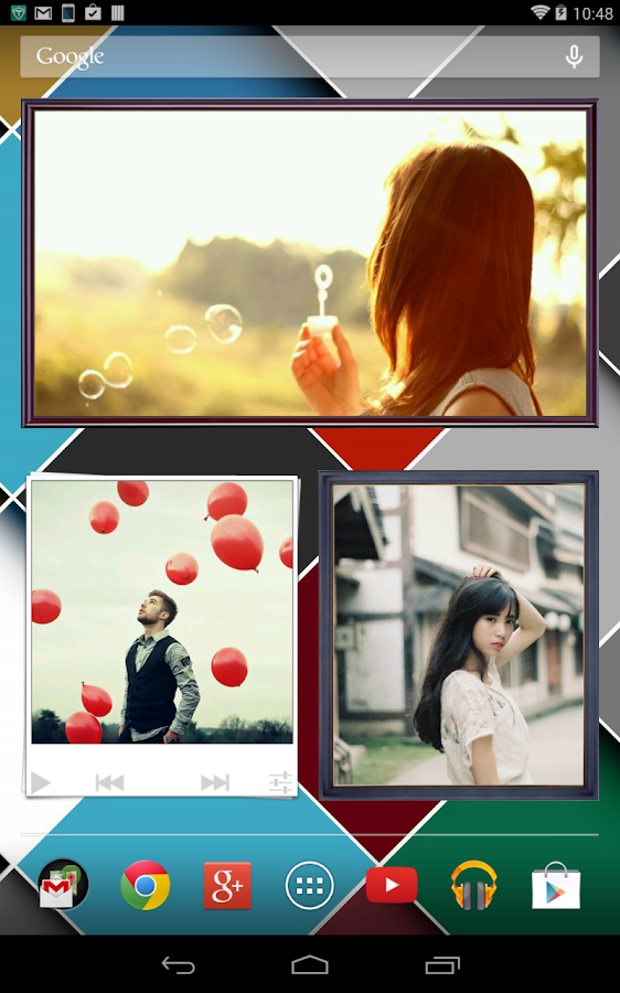 Animated Photo Frame Widget - screenshot