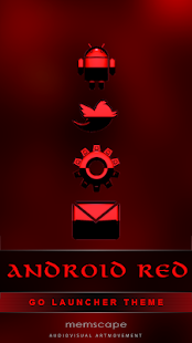 GO Theme Android Red