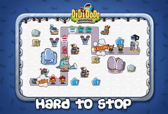 Dididodo Defense: Cool Games - screenshot
