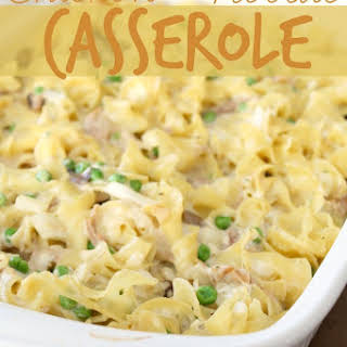Easy Chicken and Noodle Casserole.