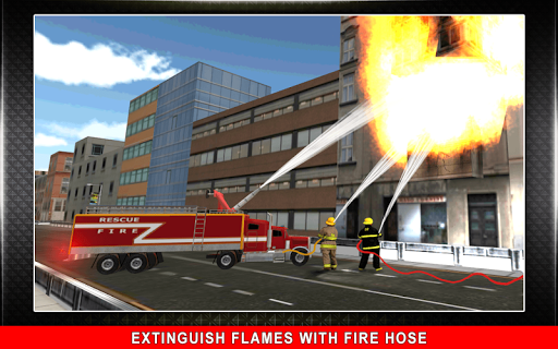 911 Rescue Fire Truck 3D Sim  screenshots 7