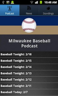 Milwaukee Baseball - screenshot thumbnail