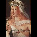 Lucretia Borgia-Book logo