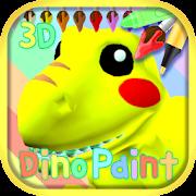 App Dinosaur Coloring 3D - AR APK for Windows Phone