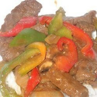 Kikkoman Chinese Pepper Steak.