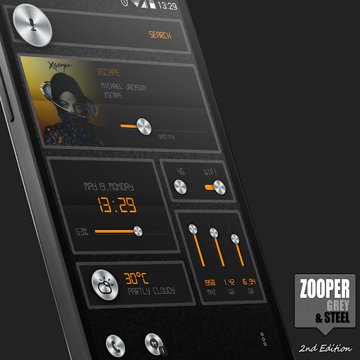 Zooper Grey Steel