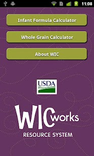 WIC Calculators - screenshot thumbnail
