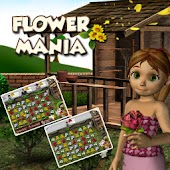 HD Flower Mania Match 3 Three