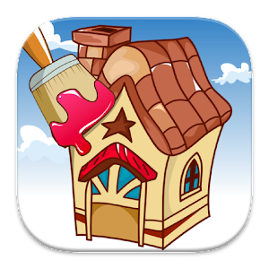 Coloring: Houses for PC and MAC