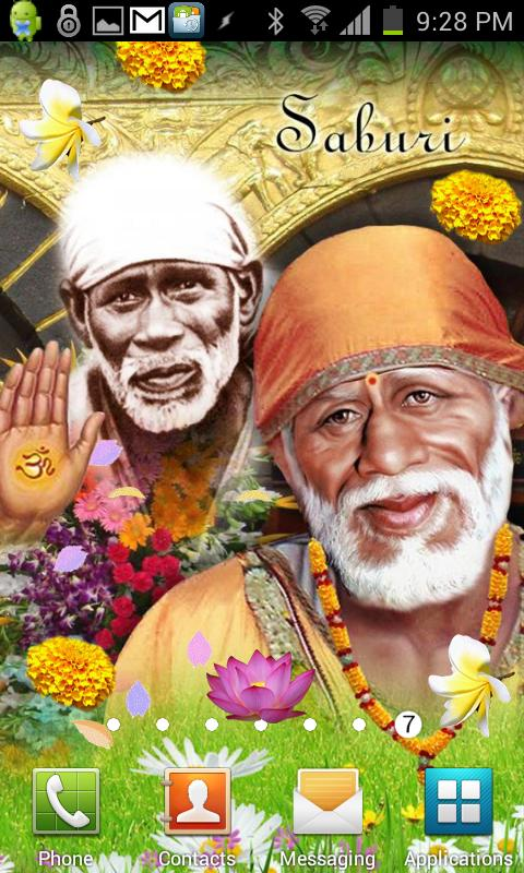 Shirdi SAI BABA Live Wallpaper - screenshot