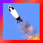 Rockete 3D Moon Rocket