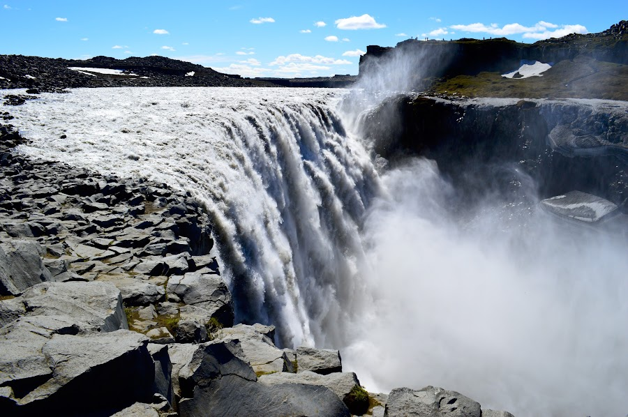 Dettifoss by Zbigniew Mika - Landscapes Waterscapes ( dettifoss )