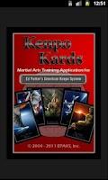 Screenshot of Kenpo Kards - Full Version