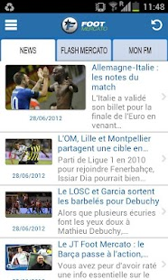 Foot Mercato - screenshot thumbnail