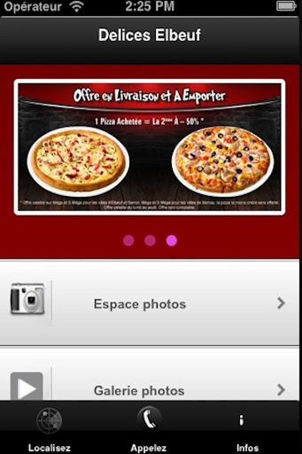 Délices Pizza