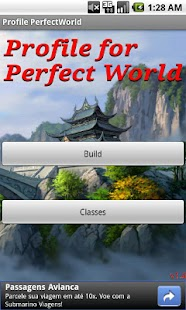 Profile for Perfect World - screenshot thumbnail