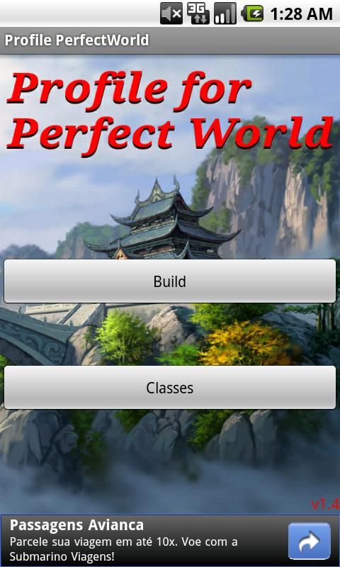 Profile for Perfect World - screenshot