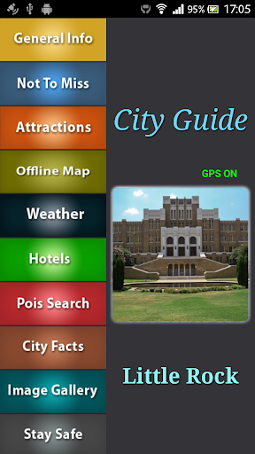 Little Rock Offline Guide