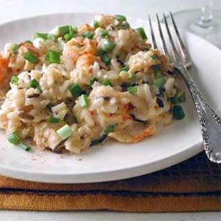 Crawfish and Rice Casserole.