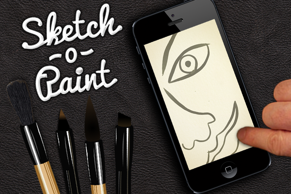 sketch o paint screenshot - Free Sketches To Paint
