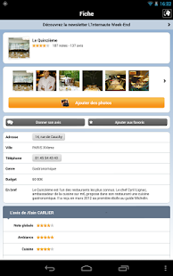 Restaurants par L'Internaute- screenshot thumbnail