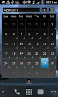 Screenshot of LauncherPro s23 STORMCLOUDS