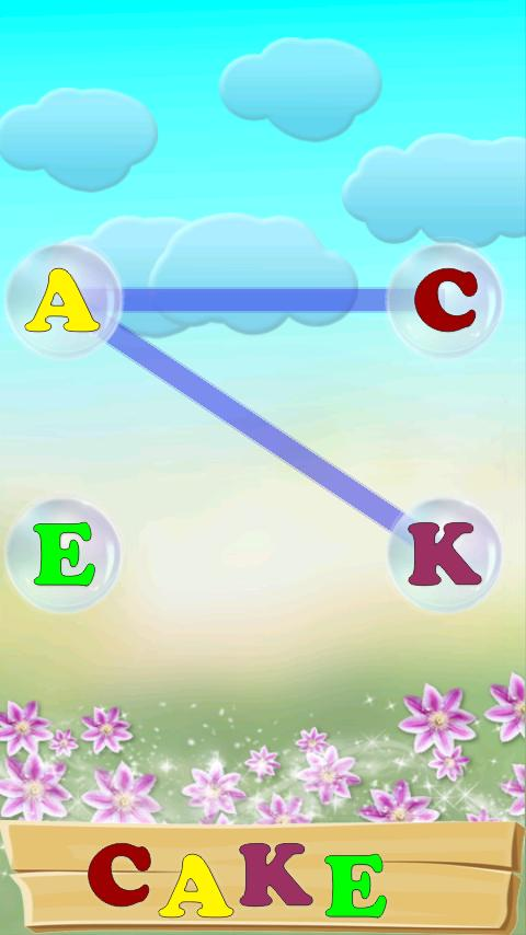 ABC Bubbles - English. Lite- screenshot