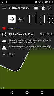 Sleep as Android - screenshot thumbnail
