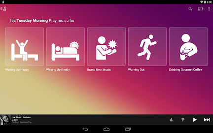 Songza Screenshot 1