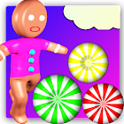 Candy paradise Gingerbread run icon