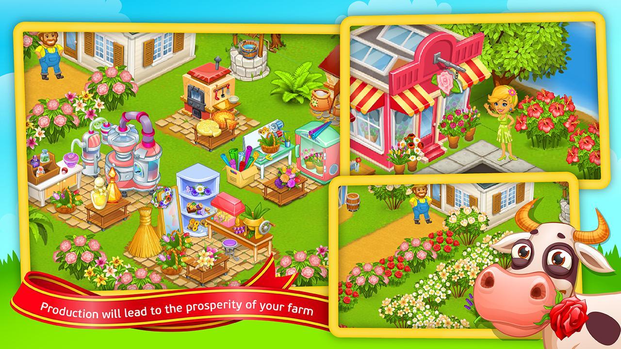Amazing Day On Hay Farm Screenshot