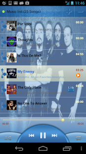 MusicDropNPlayLite for Dropbox - screenshot thumbnail